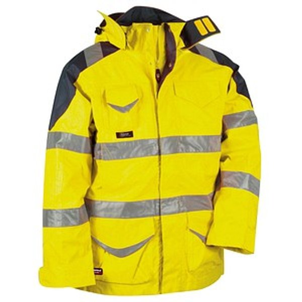 COFRA® Herren Warnjacke PROTECTION gelb Größe 54