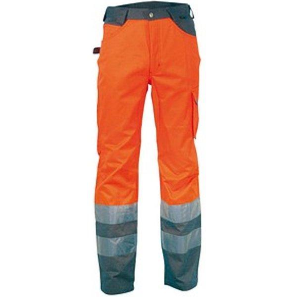COFRA® Herren Warnschutzhose RAY orange Größe 52