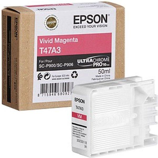 Epson T47A3 Vivid Magenta Ink Cartridge (Original)