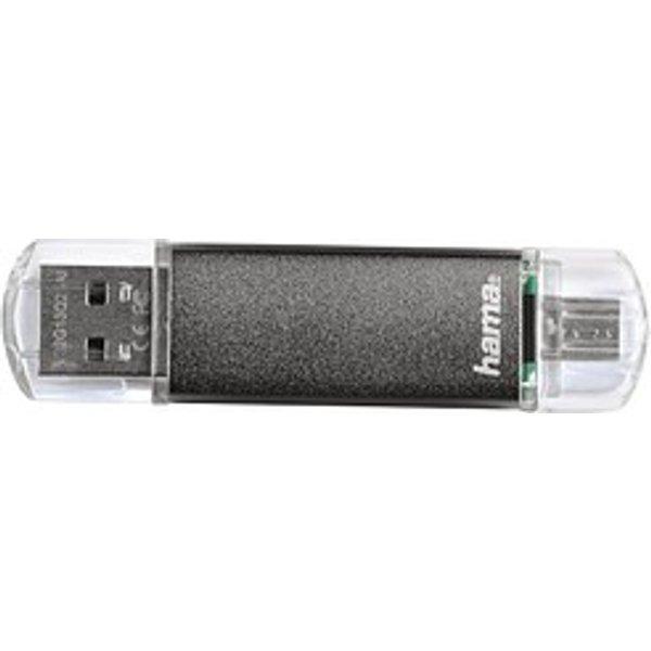 "Hama FlashPen ""Laeta Twin"" - clé USB - 64 Go"