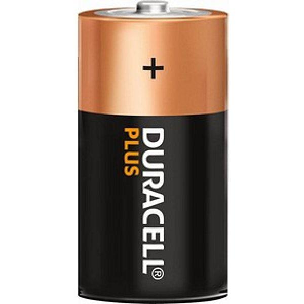 Duracell Plus Power D Alkaline Batteries - 2 Pack