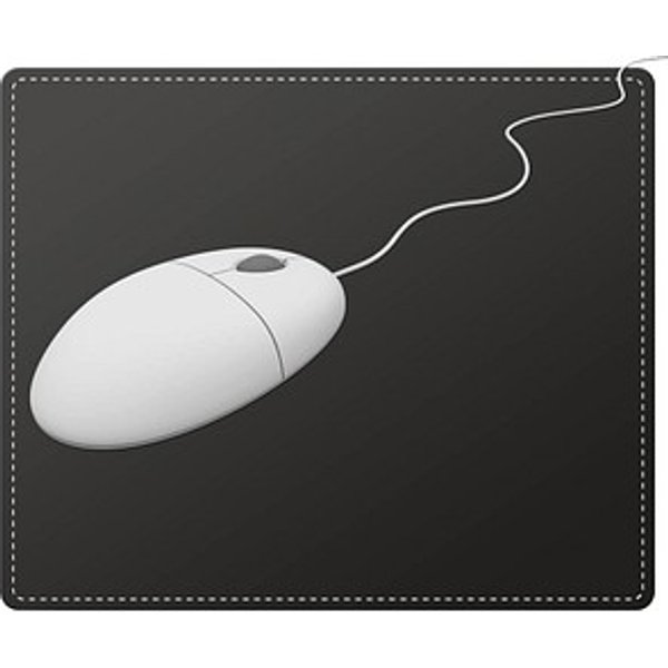 SPEEDLINK Notary Soft Touch Leather Style Mousepad Black SL6243LBK