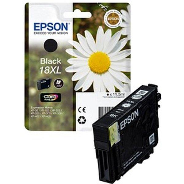 Original Epson C 13 T 18114012 / 18Xl Tinte Schwarz XL