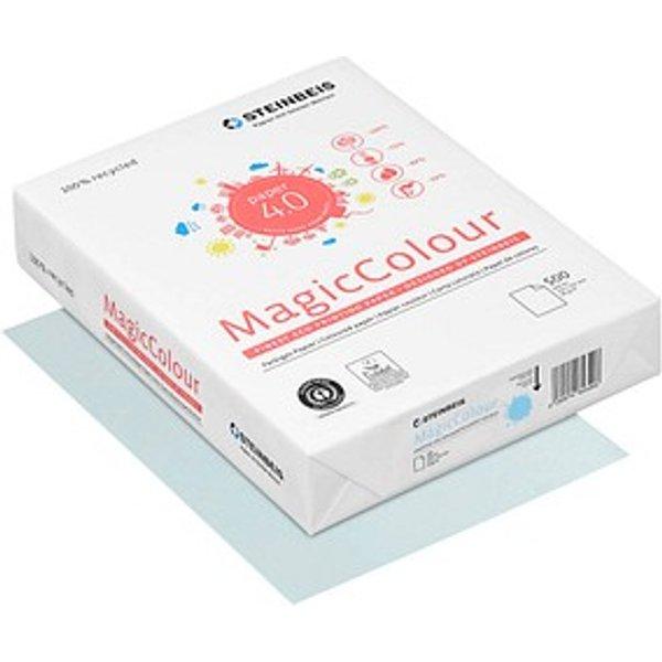 STEINBEIS Recyclingpapier MagicColour pastell-blau A4 80 g/qm