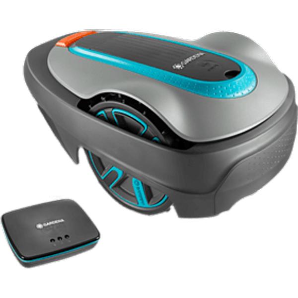 GARDENA Smart Sileno City - Robot tondeuse (Rendement surfacique max.: 250 m²Gris)