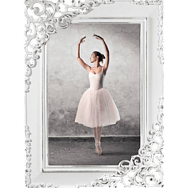 HAMA Wales - Portrait frame (Blanc)