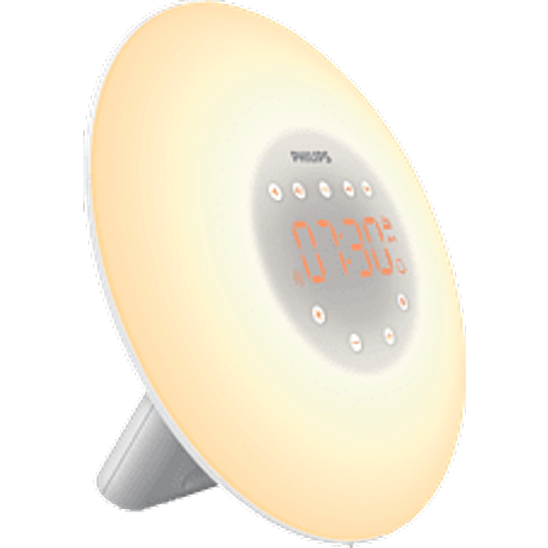 Philips Wake-up Light HF3505/01 weiss Licht Wecker