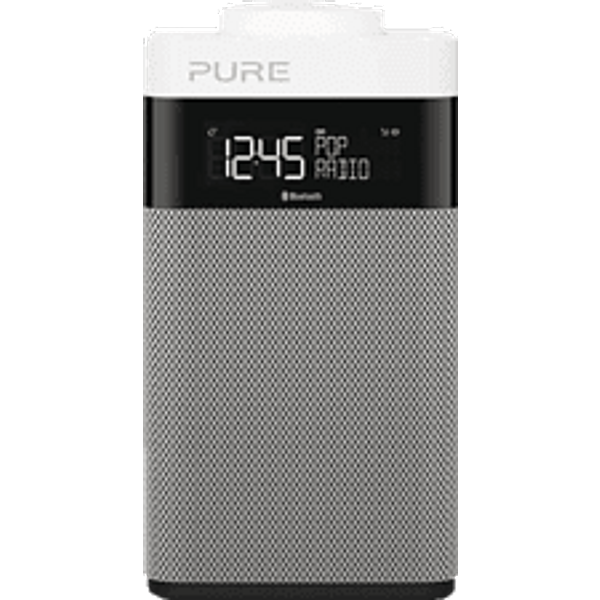 PURE DIGITAL POP Midi BT, Gris Digitalradio (Argent)