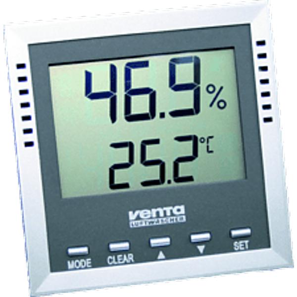 VENTA 60110 Thermo-hygromètre - Hygromètre. (Argent/gris)