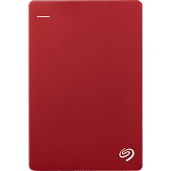 Seagate Backup Plus Slim - Disque dur (2 TB, Rouge)