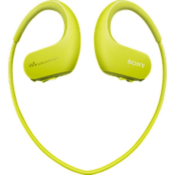 SONY NW-WS413G - Casque avec mémoire intégrée (4 GB, Vert citron)