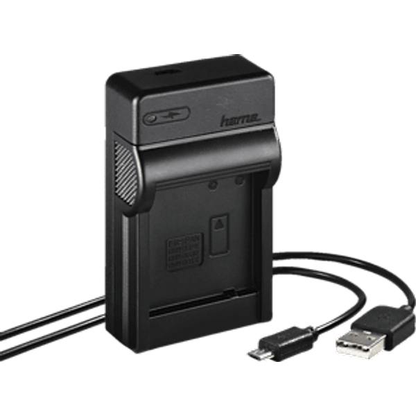 Hama Travel USB Charger for Panasonic DMW-BLG10