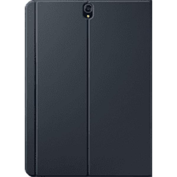 Etui à rabat noir pour Samsung Galaxy Tab S3 9,7