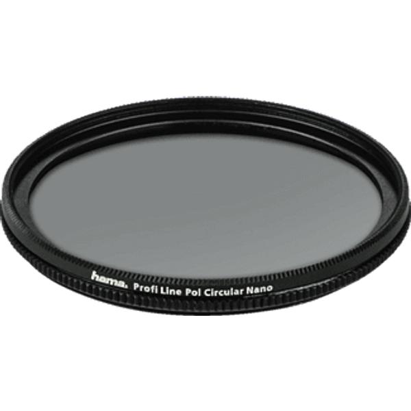 HAMA Profi Line 72 mm - Filtre à pôles (Noir)