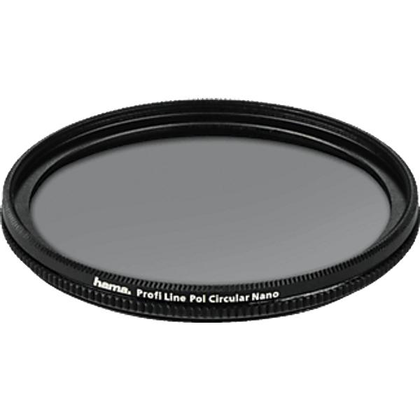 HAMA Profi Line 77 mm - Filtre à pôles (Noir)
