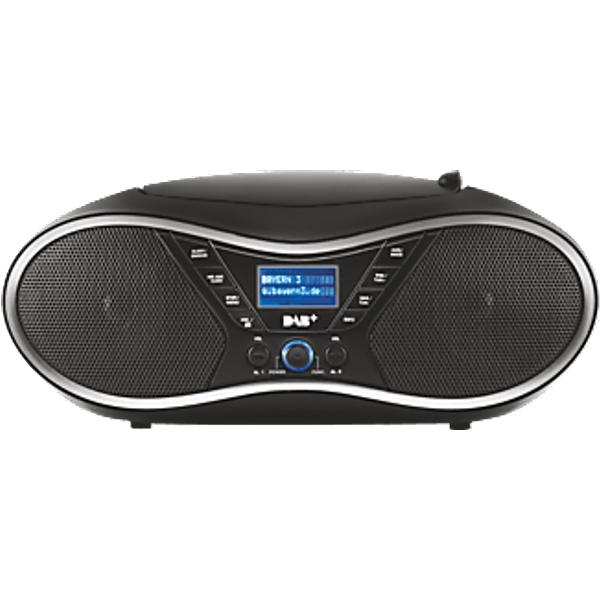 OK ORC 610 DAB - CD-Radio portable (DAB+, FM, Noir)