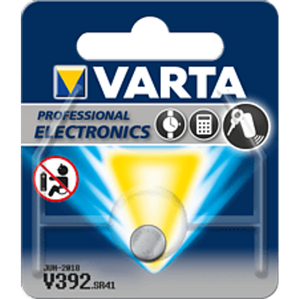 Pile bouton 392 oxyde dargent Varta 40 mAh 1.55 V 1 pc(s)