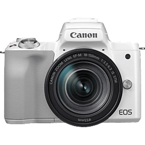 EOS M50 18-150mm - blanche