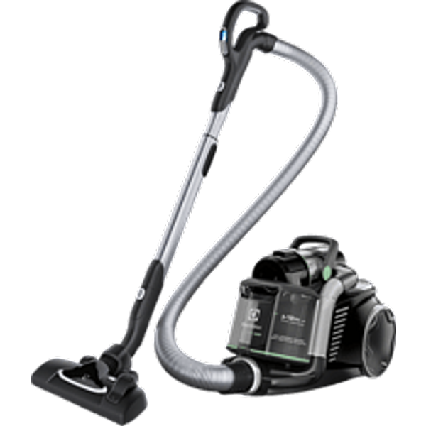 ELECTROLUX Turbo Cyclonic Technology™ EUF8GREEN - Staubsauger (Schwarz)