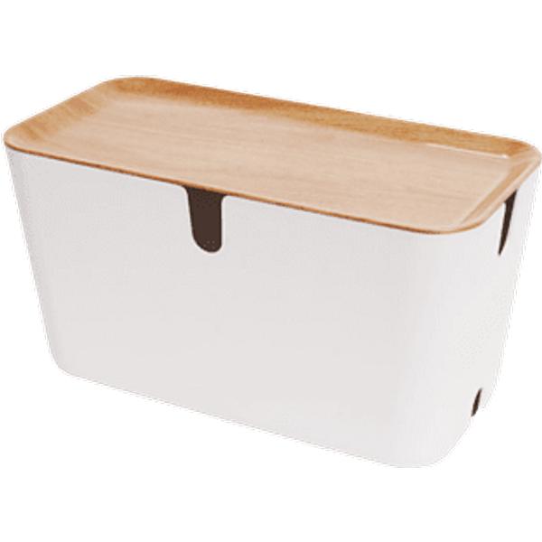 Bosign Hideaway Kabelbox Weiß/Natur XXL (240105)