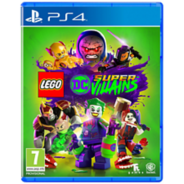 PS4 - Lego DC Super-Villains (D/f) Box (310328)