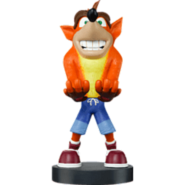 Crash Bandicoot Collectable XL 12 Inch Cable Guy Console Stand
