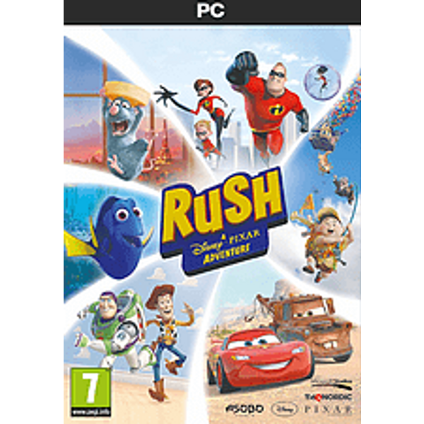 PC - Rush: A Disney-Pixar Adventure F/I Box (80073044)