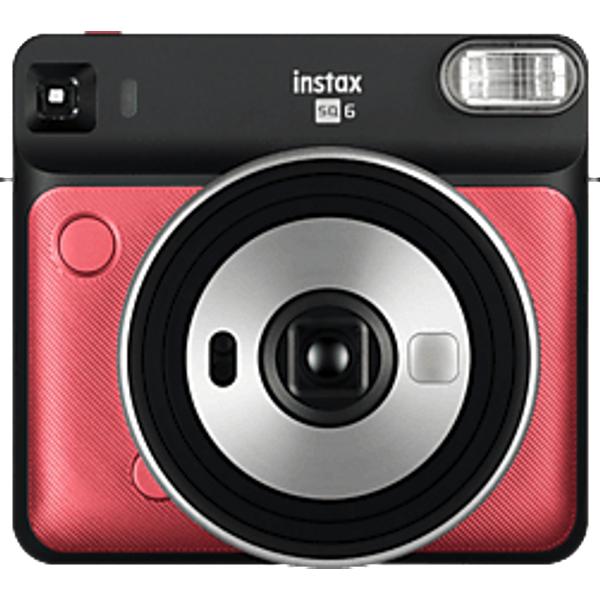 FUJIFILM Instax SQUARE SQ6 - Sofortbildkamera Ruby Red