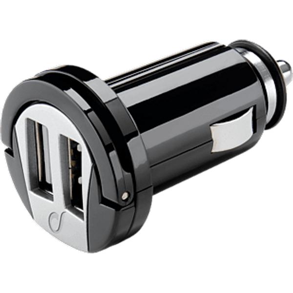 CELLULARLINE Chargeur de voiture USB MICRO double