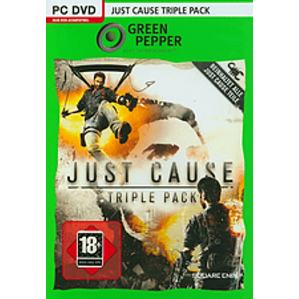 PC - Pyramide: Just Cause Bundle 1-3 (D) Box
