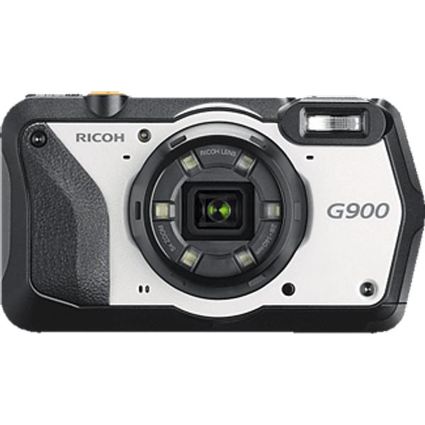 RICOH G900 - Kompaktkamera (Fotoauflösung: 20 MP) Schwarz/Weiss