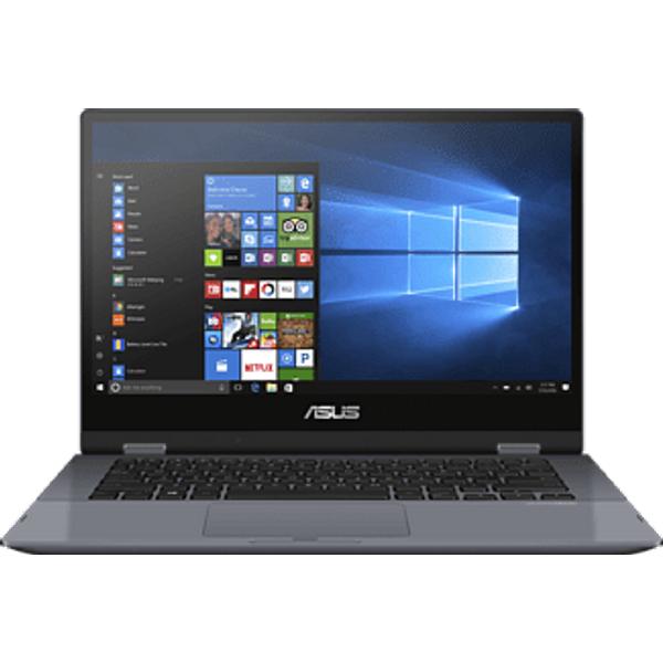 "ASUS VivoBook Flip 14 TP412UA-EC160T - Convertible 2 in 1 Laptop (14 "", 128 GB SSD, Star Grey)"