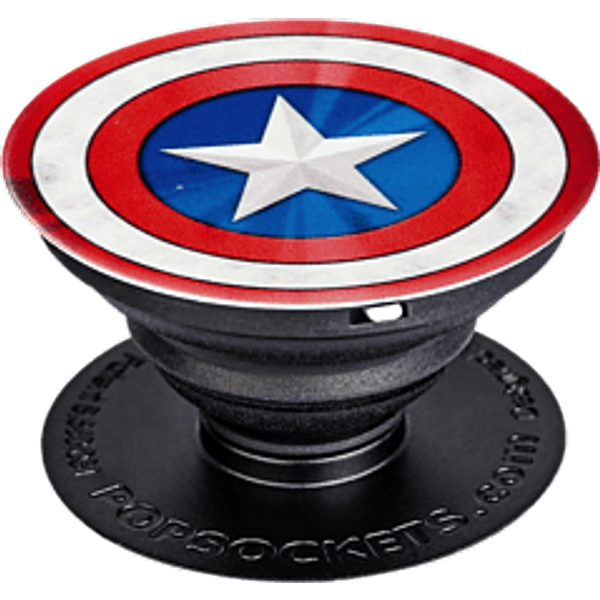 POPSOCKETS Captain America Shield Icon - Handyhalterung (Mehrfarbig)