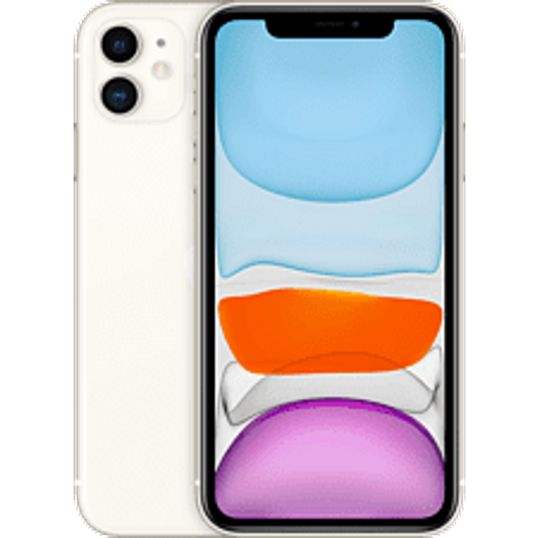 "Apple iPhone 11 - Smartphone - Dual-SIM - 4G Gigabit Class LTE - 128 GB - GSM - 6.1"" - 1792 x 828 Pixel (326 ppi (Pixel pro Zoll)) - Liquid Retina HD display (12 MP Vorderkamera) - 2 x R"