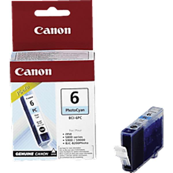 Canon BCI-6 PC Foto cyan Tintenpatrone (4709A002)