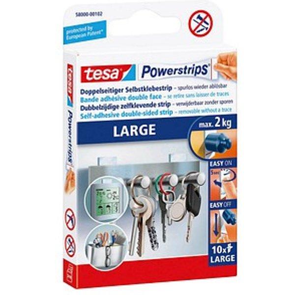 Power Strips large TESA 58000-00102-10 10 Stück