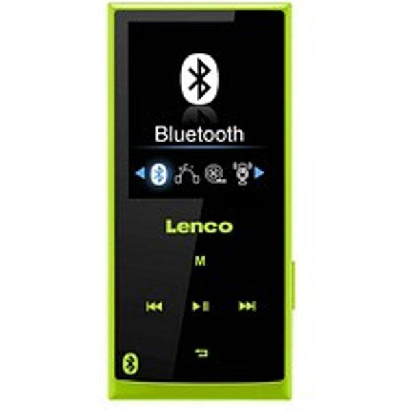 Lenco Xemio-760 BT, vert - Lecteur Mp4. (Vert)