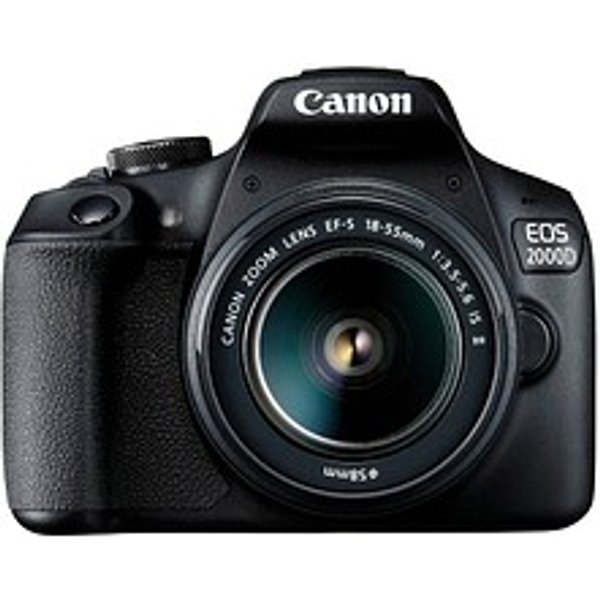 Canon EOS 2000D Starter Kit 18-55 IS II -Slr Kamera