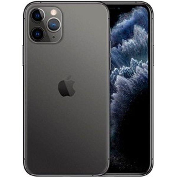 "Apple iPhone 11 Pro - Smartphone - Dual-SIM - 4G Gigabit Class LTE - 64 GB - GSM - 5.8"" - 2436 x 1125 Pixel (458 ppi (Pixel pro Zoll)) - Super Retina XDR Display (12 MP Vorderkamera) - Triple-Kamera - Space-grau"