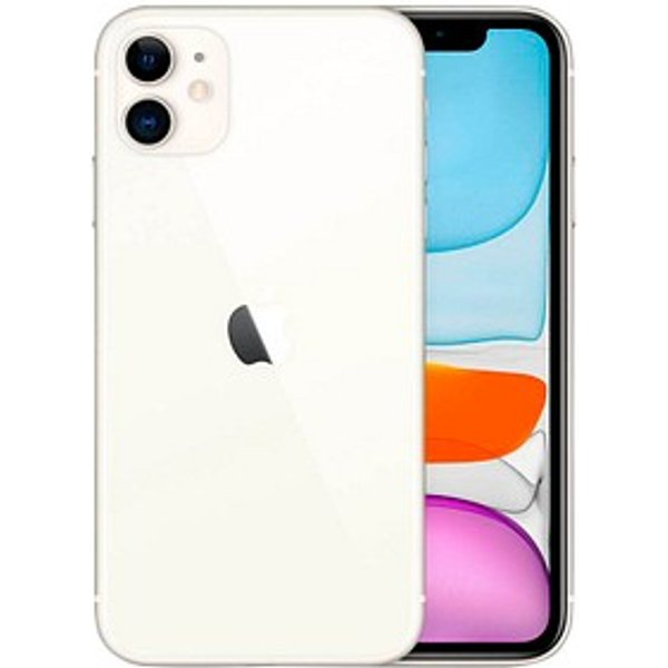 "Apple iPhone 11 - Smartphone - Dual-SIM - 4G Gigabit Class LTE - 64 GB - GSM - 6.1"" - 1792 x 828 Pixel (326 ppi (Pixel pro Zoll)) - Liquid Retina HD display (12 MP Vorderkamera) - 2 x R"