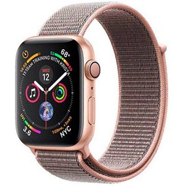 Apple Watch Serie 4 44mm GPS+Cellular Gold Aluminum Pink Sand Sport Loop Smartwatch