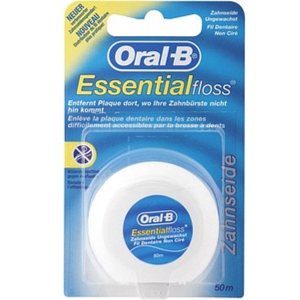 Oral-B Essential Floss  Unwaxed 5012