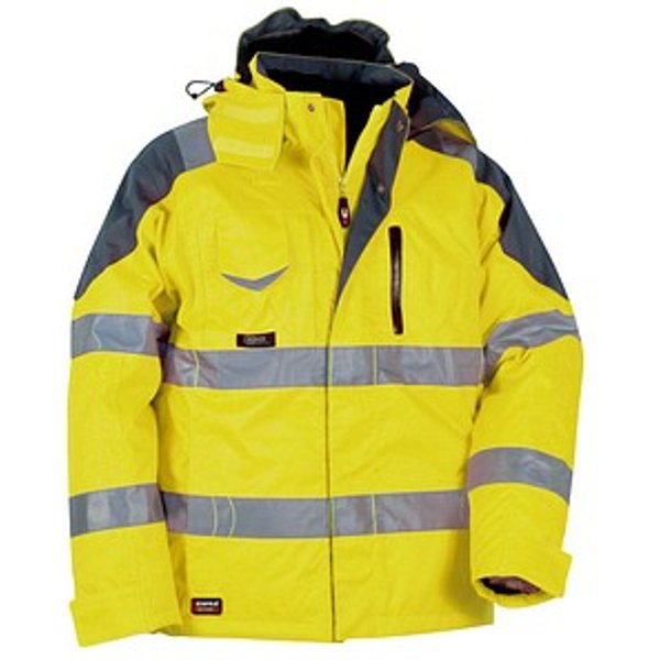Veste de travail Cofra High Visibility Rescue Jaune 64