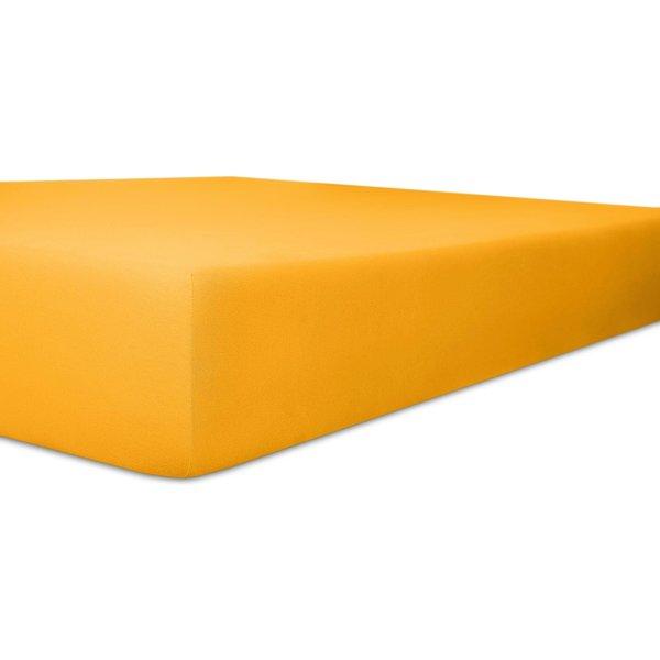 Kneer Q93 Exclusive-Stretch Spannbetttuch 140x200 - 160x220 03 Honig