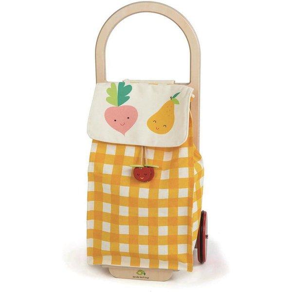 Kaufladen, tender leaf toys, »Einkaufstrolley gelb«