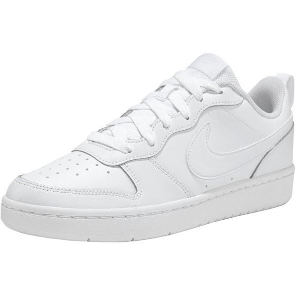 Nike  COURT BOROUGH LOW 2 GS  girls's Shoes (Trainers) in White
