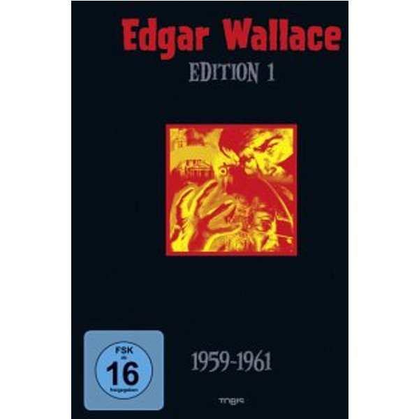 Edgar Wallace Edition 1 (1959 - 1961) (Box, 4 DVDs)