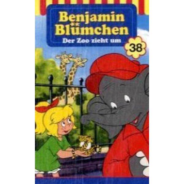 Benjamin Blümchen 038. Der Zoo zieht um. Cassette