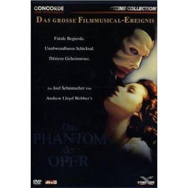 Das Phantom Der Oper (Dvd) - Gerard Butler/emmy Rossum, DVD