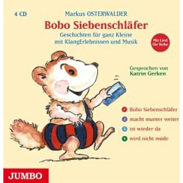 Osterwalder, Markus: Bobo Siebenschläfer (Audio-CD)